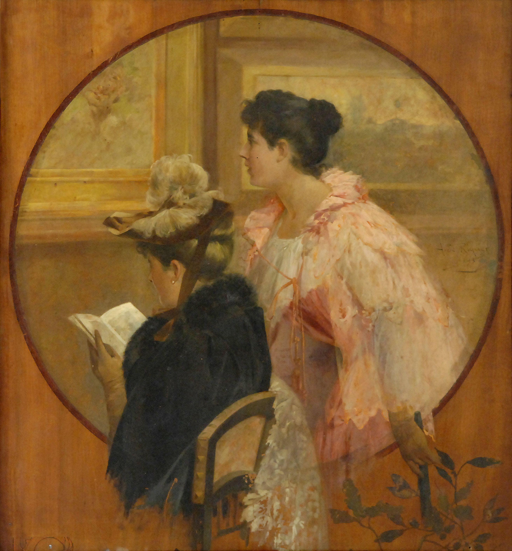 Dones amb catàleg d'Alexandre de Riquer.