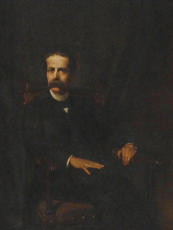 Retrat de Josep Coroleu i Inglada de Manuel Cosí.