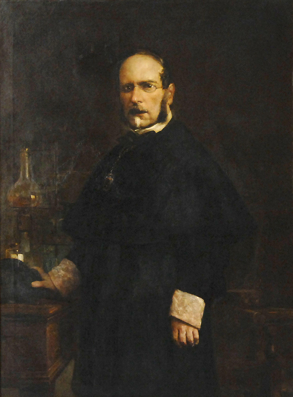 Retrat de Joan Agell de Joan Vicens.