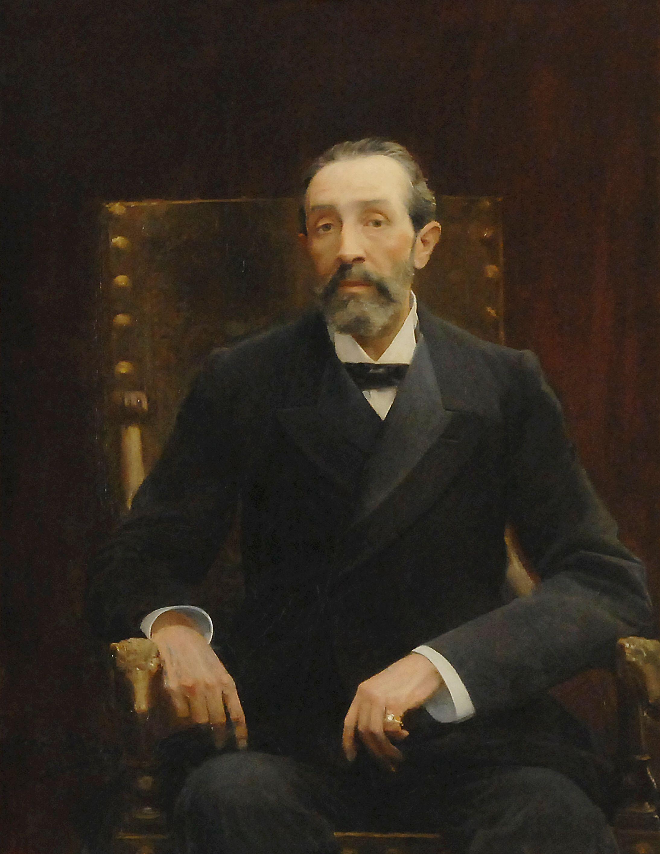 Retrat de Bartomeu Robert d'Arcadi Mas.