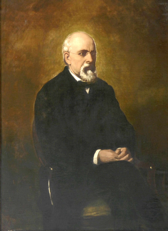 Retrat de Francesc Permanyer i Tuyets de Benet Mercadé.