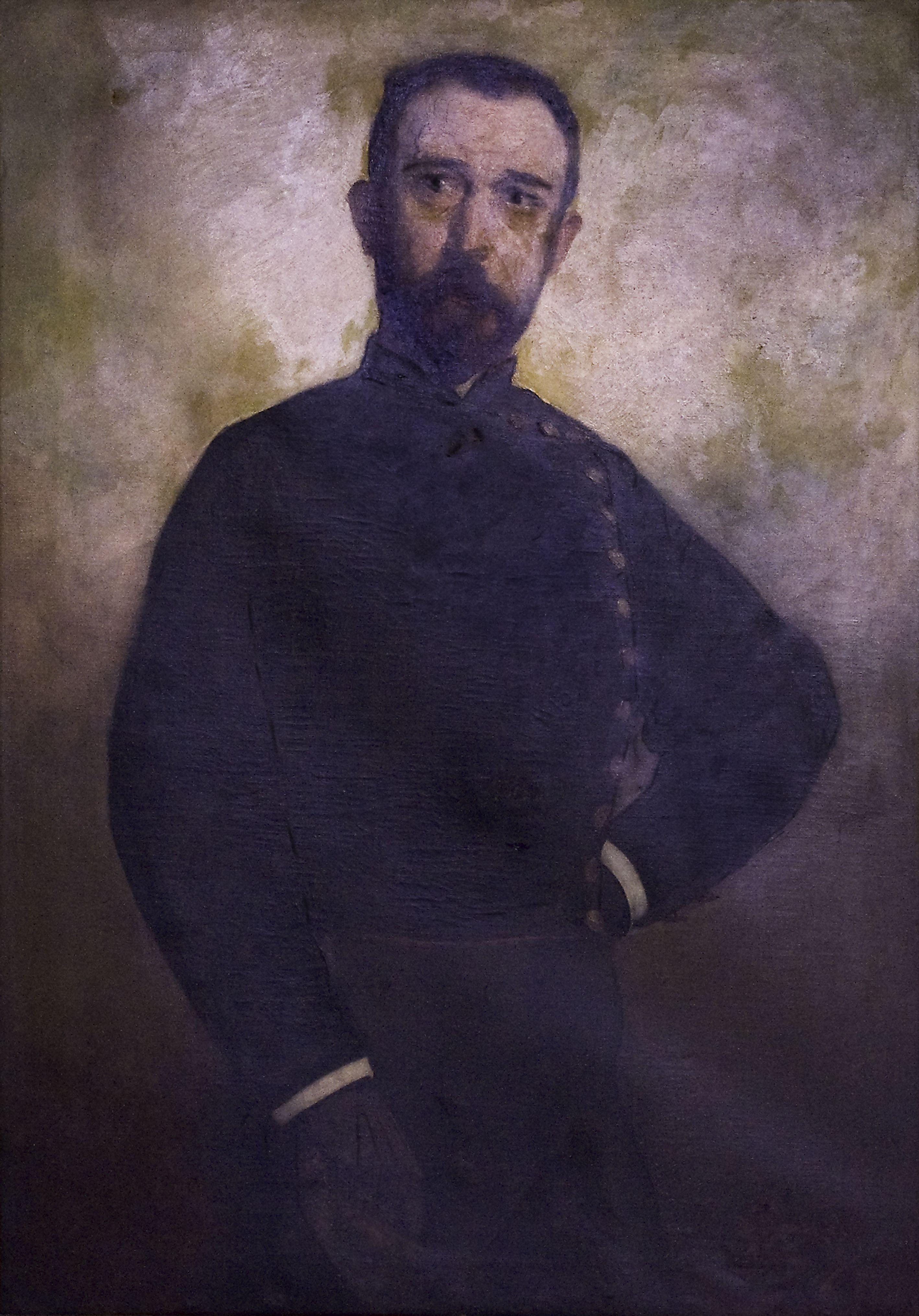 Retrat del Sr. Bea, mestre d'esgrima de Josep Cuchy.