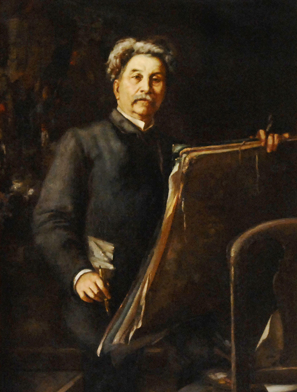 Retrat de Ramon Martí i Alsina de Ricard Martí i Aguiló.
