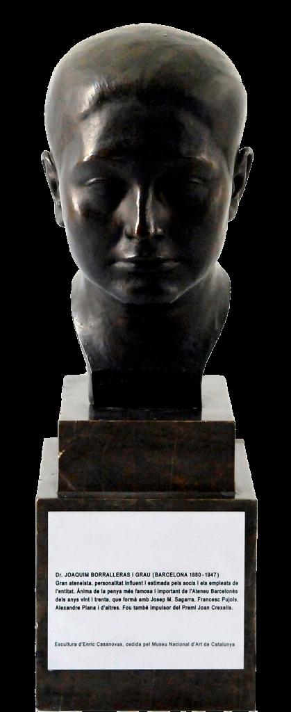 Bust de Quim Borralleras d'Enric Casanovas