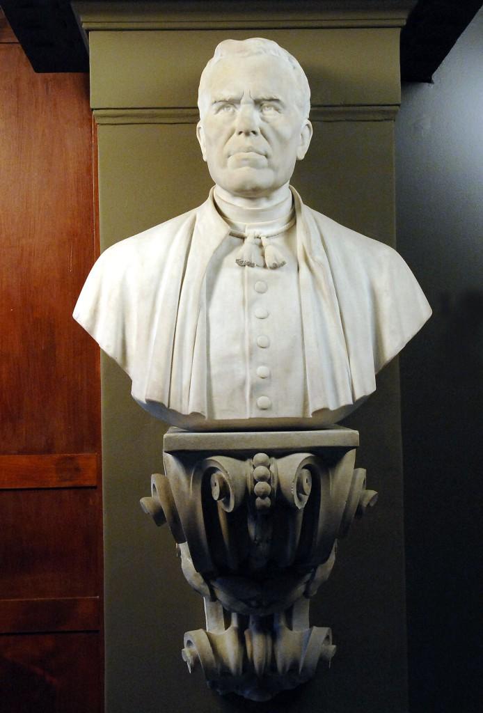 Bust de Jacint Verdaguer de Manuel Fuxà.