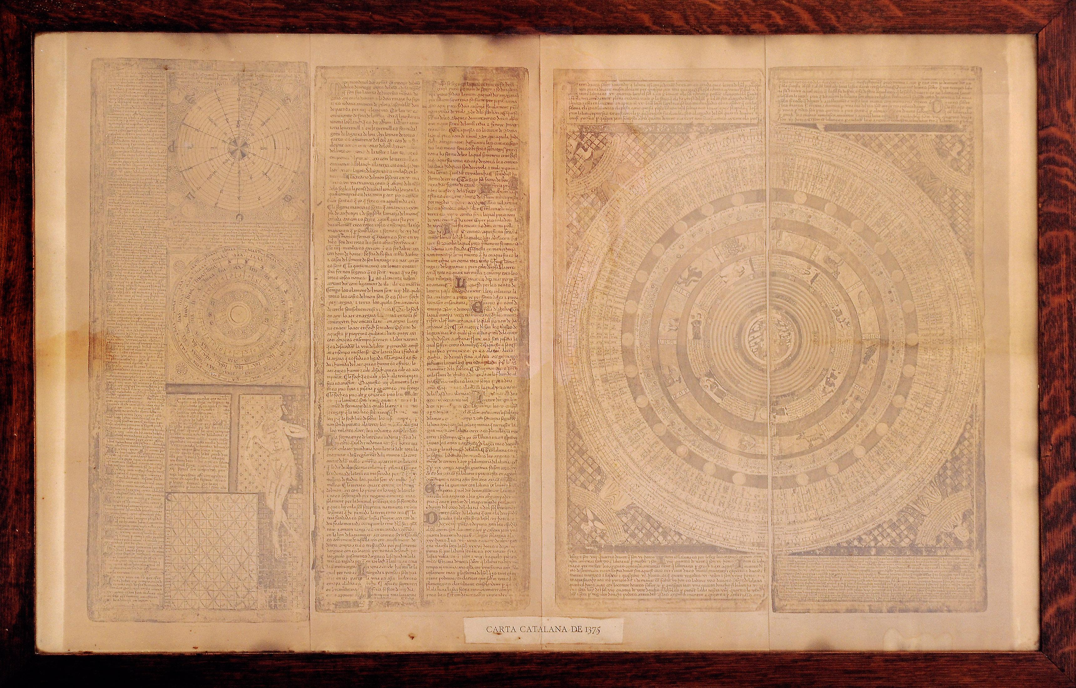 Carta catalana de 1375 d'Abraham Cresques.