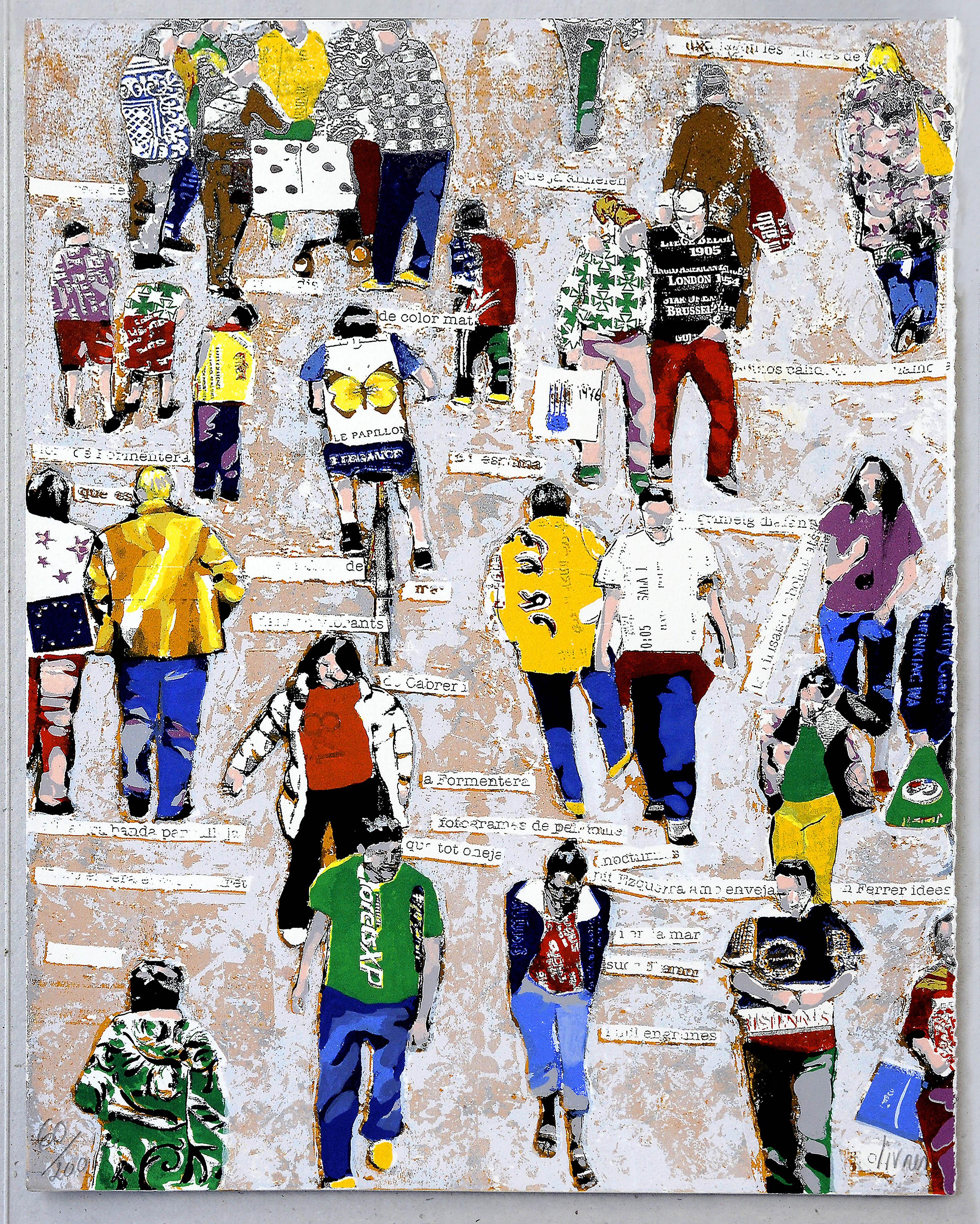 Cartell de la Setmana de la Poesia de Barcelona 2006 de Miguel Olivares