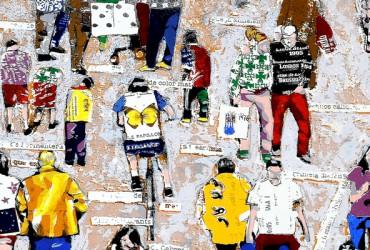 Cartell de la Setmana de la Poesia de Barcelona 2006