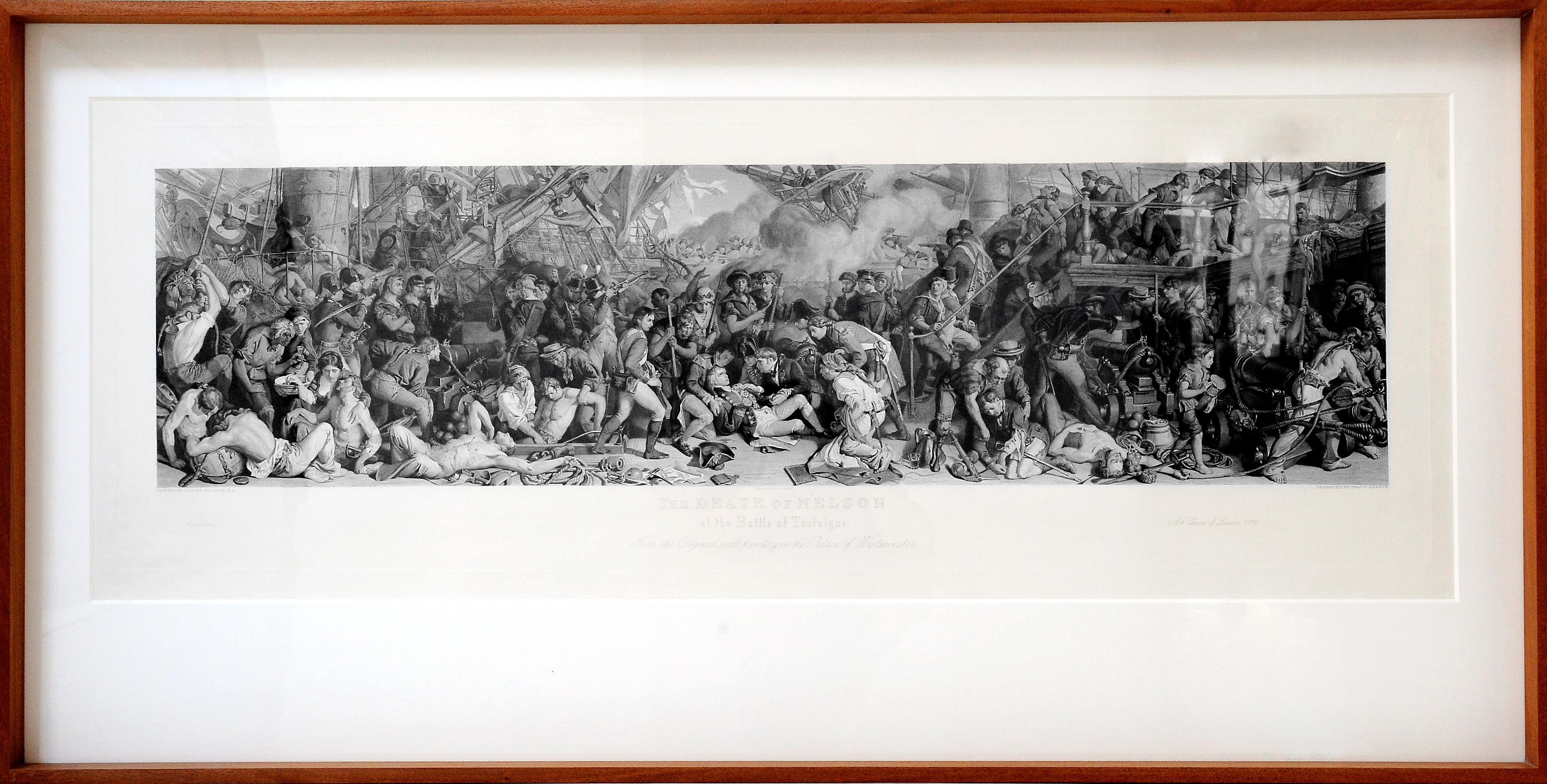 Mort de Nelson de Daniel Maclise